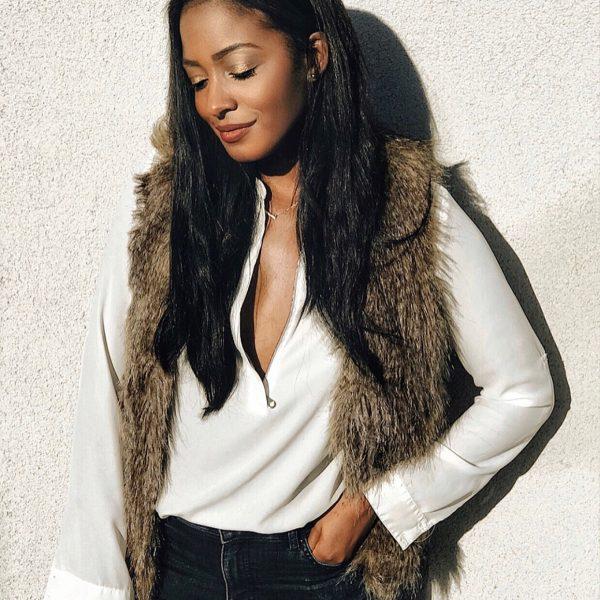 6 Faux Fur Vests Under 100$